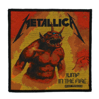 патч METALLICA - JUMP IN THE FIRE - RAZAMATAZ, RAZAMATAZ, Metallica