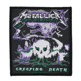 патч METALLICA - CREEPING DEATH - RAZAMATAZ, RAZAMATAZ, Metallica
