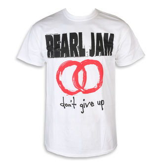 футболка метал чоловічий Pearl Jam - Don't Give Up White - NNM, NNM, Pearl Jam