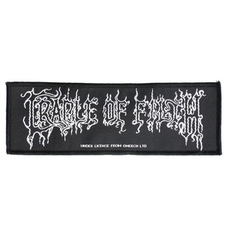 Патч Cradle Of Filth - Logo - RAZAMATAZ, RAZAMATAZ, Cradle of Filth