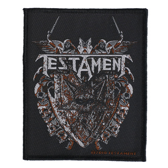 Нашивка Testament - Shield - RAZAMATAZ, RAZAMATAZ, Testament