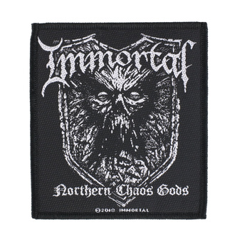 Патч Immortal - Northern Chaos Gods - RAZAMATAZ, RAZAMATAZ, Immortal