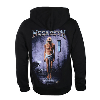 чоловіча толстовка  Megadeth - COUNTDOWN TO EXTINCTION - PLASTIC HEAD, PLASTIC HEAD, Megadeth