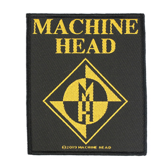 Патч Machine Head - Diamond Logo - RAZAMATAZ, RAZAMATAZ, Machine Head
