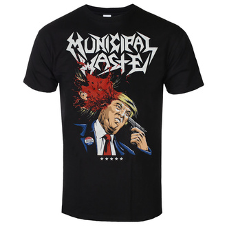 Чоловіча футболка метал  Municipal Waste - Trump- black - ART WORX, ART WORX, Municipal Waste