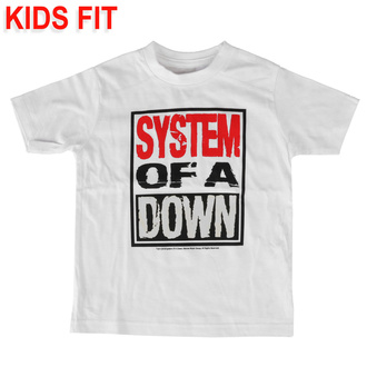 дитяча футболка System of a Down - Logo - Metal-Kids, Metal-Kids, System of a Down