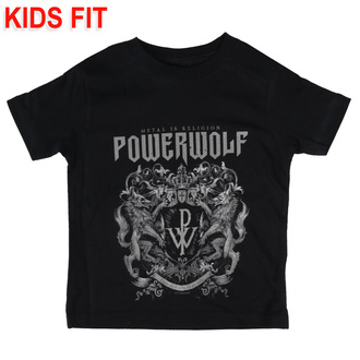дитяча футболка Powerwolf - Crest - Metal-Kids, Metal-Kids, Powerwolf
