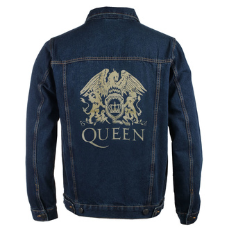 Чоловіча куртка Queen - Classic - DENIM - ROCK OFF, ROCK OFF, Queen