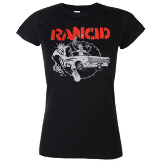Жіноча футболка Rancid - Cadillac Fitted - Чорний - KINGS ROAD, KINGS ROAD, Rancid