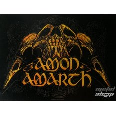прапор Amon Amarth - Черепи, HEART ROCK, Amon Amarth