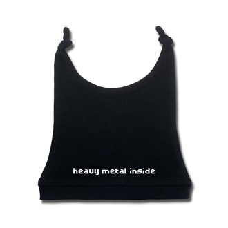 Дитячий капелюх heavy metal inside - black - Metal-Kids, Metal-Kids