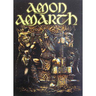 прапор Amon Amarth HFL 1027, HEART ROCK, Amon Amarth