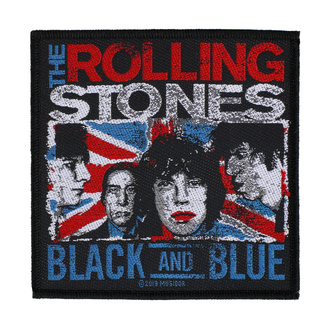 Нашивка The Rolling Stones - Black And Blue - RAZAMATAZ, RAZAMATAZ, Rolling Stones