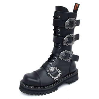 черевики KMM 14Eyelet - Big Skulls Black Monster 4P, KMM