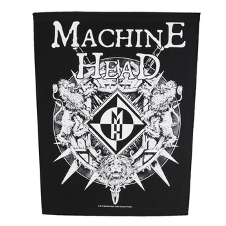 Великий патч Machine Head - Crest - RAZAMATAZ, RAZAMATAZ, Machine Head