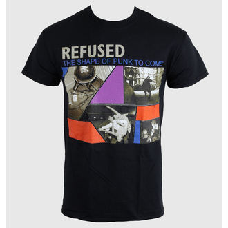 футболка чоловіки Refused - The Shape Of Punk - Чорний - KINGS ROAD, KINGS ROAD, Refused