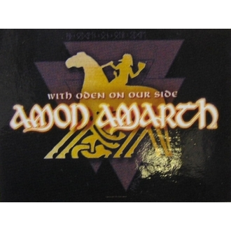 прапор Amon Amarth - With Oden Your Side, HEART ROCK, Amon Amarth