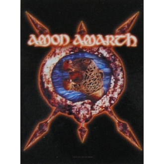прапор Amon Amarth HFL 828, HEART ROCK, Amon Amarth