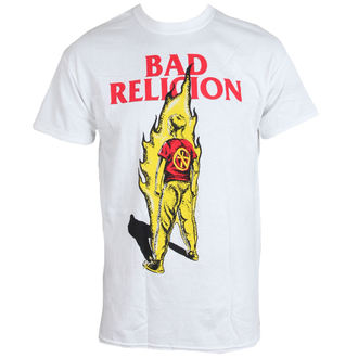 футболка метал чоловічий Bad Religion - Flame - LIVE NATION, LIVE NATION, Bad Religion