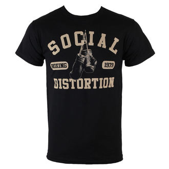 футболка метал чоловічий Social Distortion - Boxing Gloves - BRAVADO, BRAVADO, Social Distortion