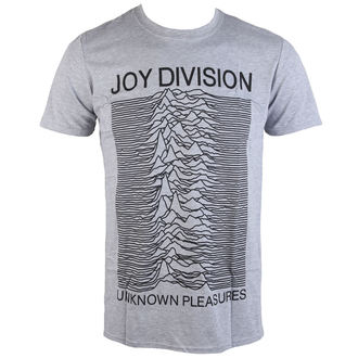 футболка метал чоловічий Joy Division - Unknown Pleasures - PLASTIC HEAD, PLASTIC HEAD, Joy Division