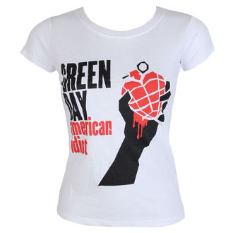 Жіноча футболка метал Green Day - American Idiot - ROCK OFF, ROCK OFF, Green Day