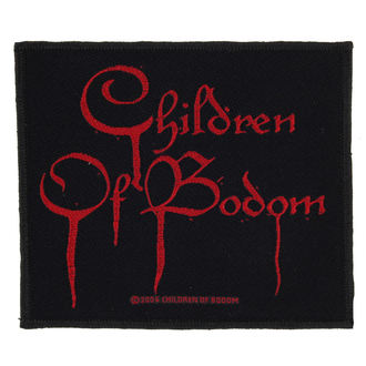 патч CHILDREN OF BODOM - BLOOD LOGO - RAZAMATAZ, RAZAMATAZ, Children of Bodom