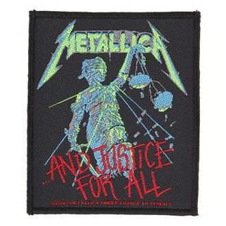 патч METALLICA - AND JUSTICE FOR ALL - RAZAMATAZ, RAZAMATAZ, Metallica