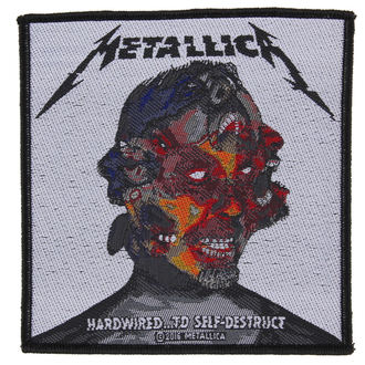 патч METALLICA - HARDWIRED TO SELF DESTRUCT - RAZAMATAZ, RAZAMATAZ, Metallica