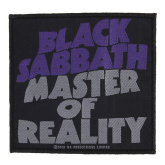 патч BLACK SABBATH - MASTER OF REALITY - RAZAMATAZ, RAZAMATAZ, Black Sabbath