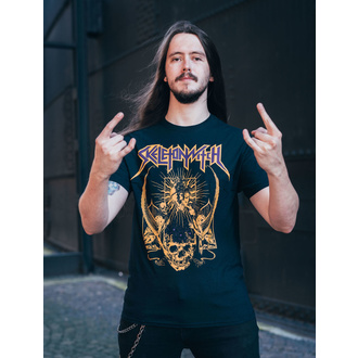 Чоловіча футболка Skeletonwitch - Blackened Heart - Black - INDIEMERCH, INDIEMERCH, Skeletonwitch
