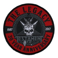 патч TESTAMENT - THE LEGACY 30 YEAR ANNIVERSARY - RAZAMATAZ, RAZAMATAZ, Testament