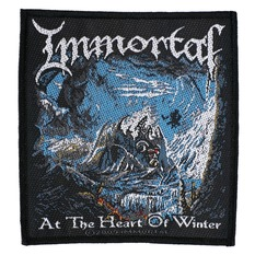 патч IMMORTAL - AT THE HEART OF WINTER - RAZAMATAZ, RAZAMATAZ, Immortal