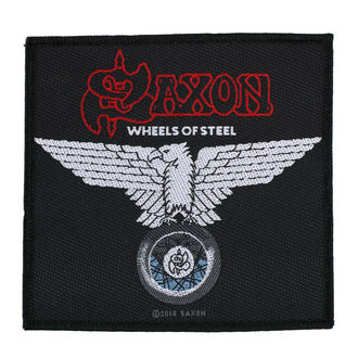 патч SAXON - WHEELS OF STEEL - RAZAMATAZ, RAZAMATAZ, Saxon
