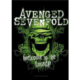Прапор Avenged Sevenfold - Welcome to the Family, HEART ROCK, Avenged Sevenfold