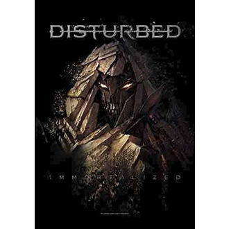 Прапор Disturbed - Shattered, HEART ROCK, Disturbed