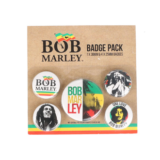 Значки - Bob Marley - PYRAMID POSTERS, PYRAMID POSTERS, Bob Marley