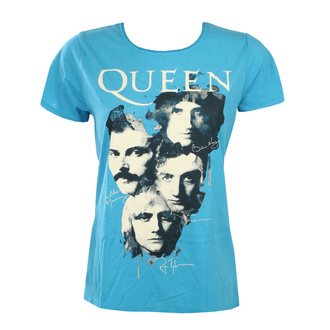 Жіноча футболка - QUEEN - AUTOGRAPHS - Teal PANTHER - AMPLIFIED, AMPLIFIED, Queen