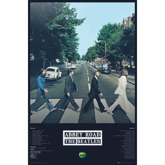 Плакат THE BEATLES - ABBEY ROAD TRACKS - GB posters, GB posters, Beatles
