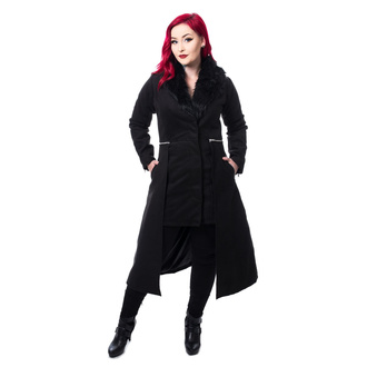 Жіноче пальто POIZEN INDUSTRIES - ADERYN COAT - BLACK, POIZEN INDUSTRIES