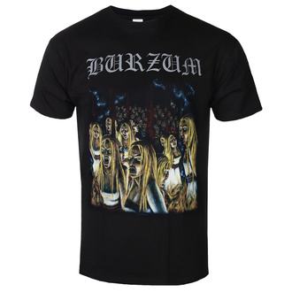 Чоловіча футболка метал Burzum - BURNING WITCHES - PLASTIC HEAD, PLASTIC HEAD, Burzum