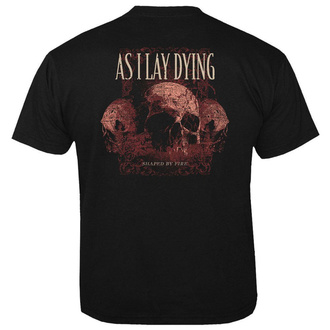 Чоловіча футболка метал As I Lay Dying - Skulls - NUCLEAR BLAST, NUCLEAR BLAST, As I Lay Dying