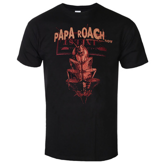 Чоловіча футболка Papa Roach - We Are Going To Infest - Чорний - KINGS ROAD, KINGS ROAD, Papa Roach