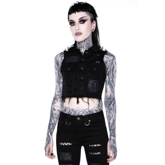 Жіноча жилетка KILLSTAR - Come Undone Denim Vest, KILLSTAR
