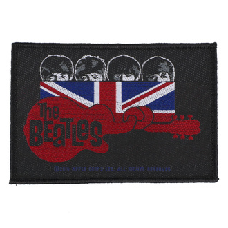 Патч The Beatles - Union Jack Guitar - RAZAMATAZ, RAZAMATAZ, Beatles