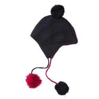 Beanie HEARTLESS - DAEMON - Чорна / RED, HEARTLESS