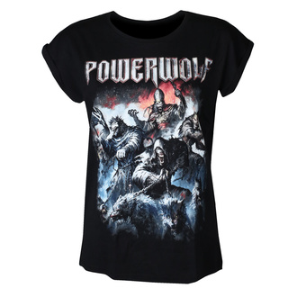 Жіноча футболка POWERWOLF - Best of the blessed - NUCLEAR BLAST, NUCLEAR BLAST, Powerwolf