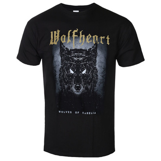 Чоловіча футболка WOLFHEART - Wolves of Karelia - NAPALM RECORDS, NAPALM RECORDS, Wolfheart