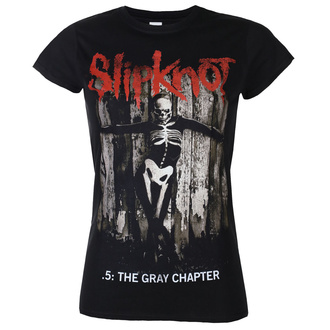 Жіноча футболка Slipknot - The Gray - Chapter Album - ROCK OFF, ROCK OFF, Slipknot