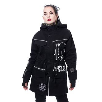 Жіноча куртка (парка) HEARTLESS - KITTY CULT PARKA - BLACK, HEARTLESS
